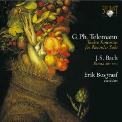 Telemann: Fantasias – Bach: Partita